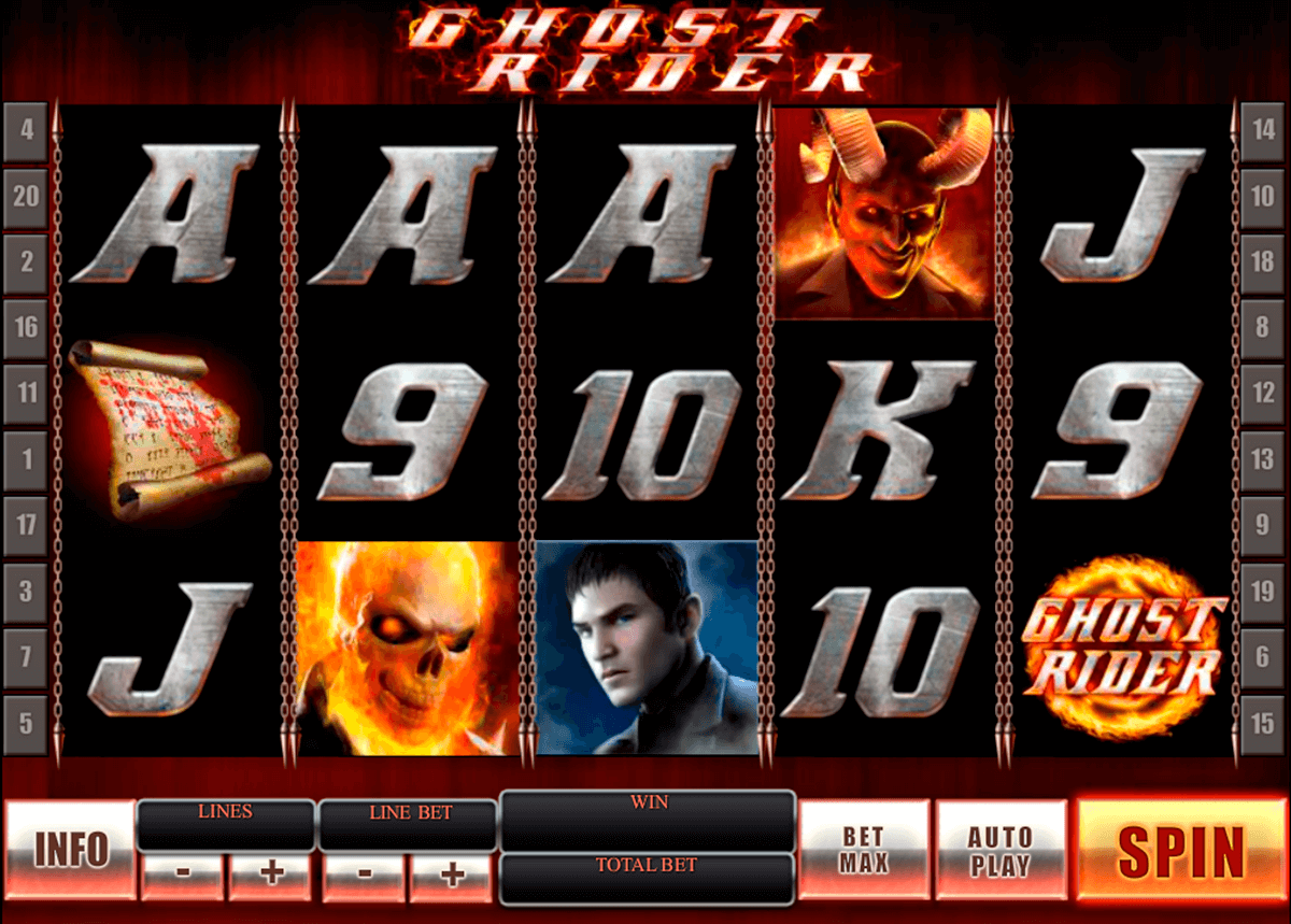 ghost rider playtech casinospil online