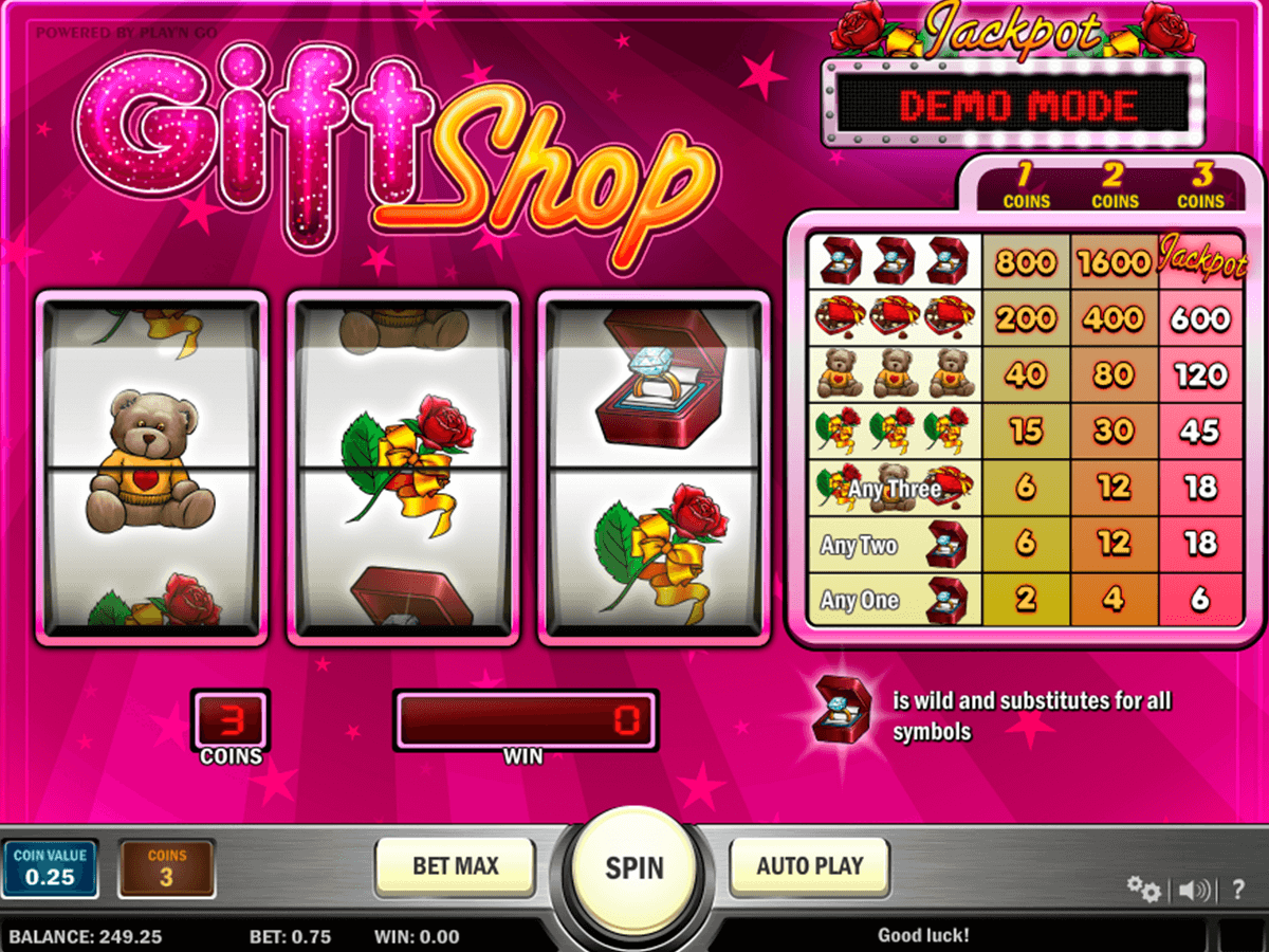 gift shop playn go casinospil online