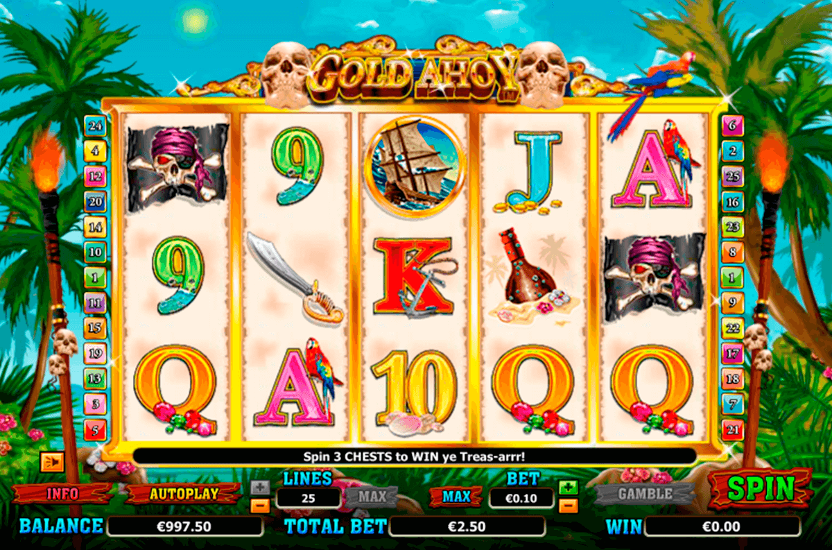 gold ahoy nextgen gaming casinospil online