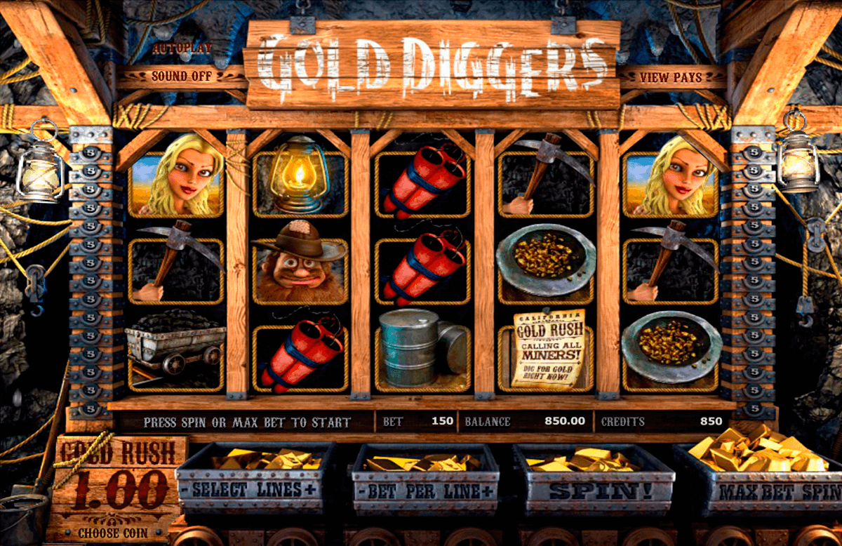 gold diggers betsoft casinospil online