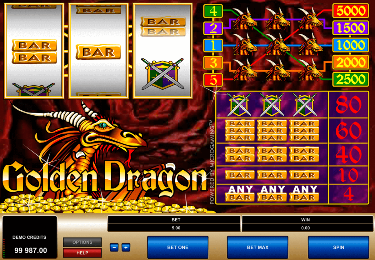 golden dragon microgaming casinospil online