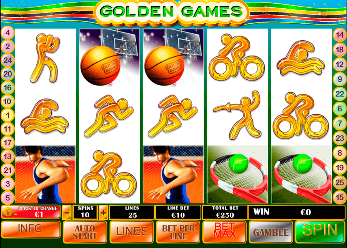 golden games playtech casinospil online