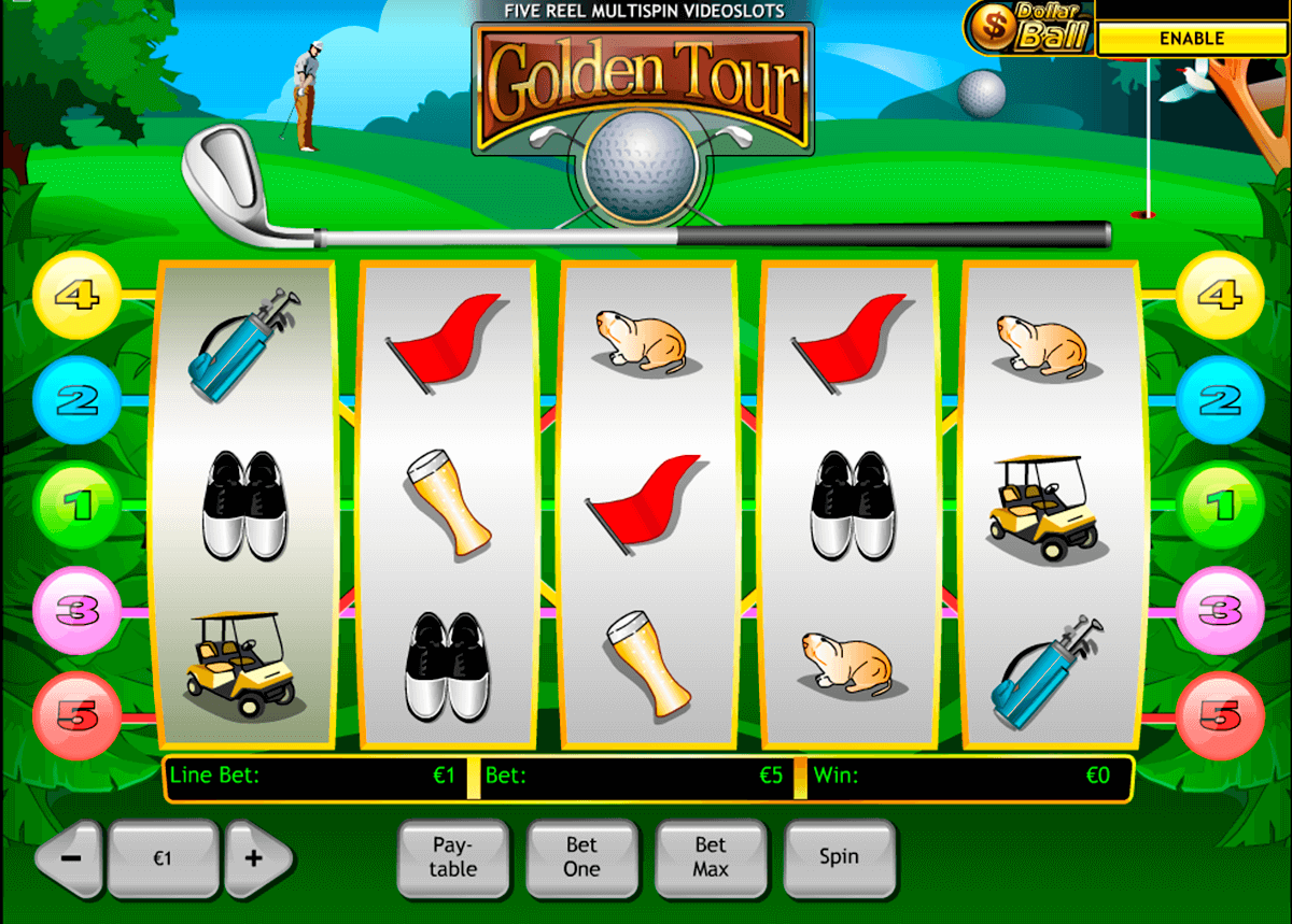 golden tour playtech casinospil online