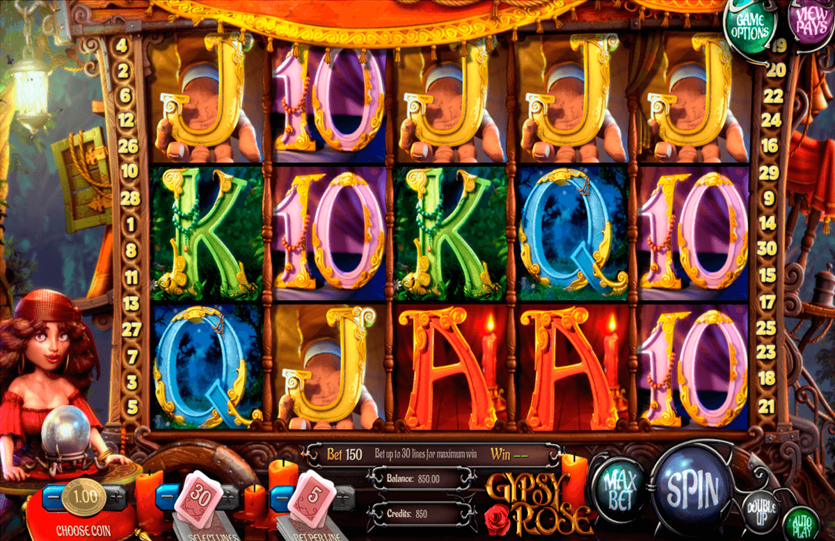 gypsy rose betsoft casinospil online