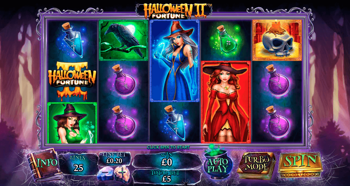 halloween fortune ii playtech casinospil online