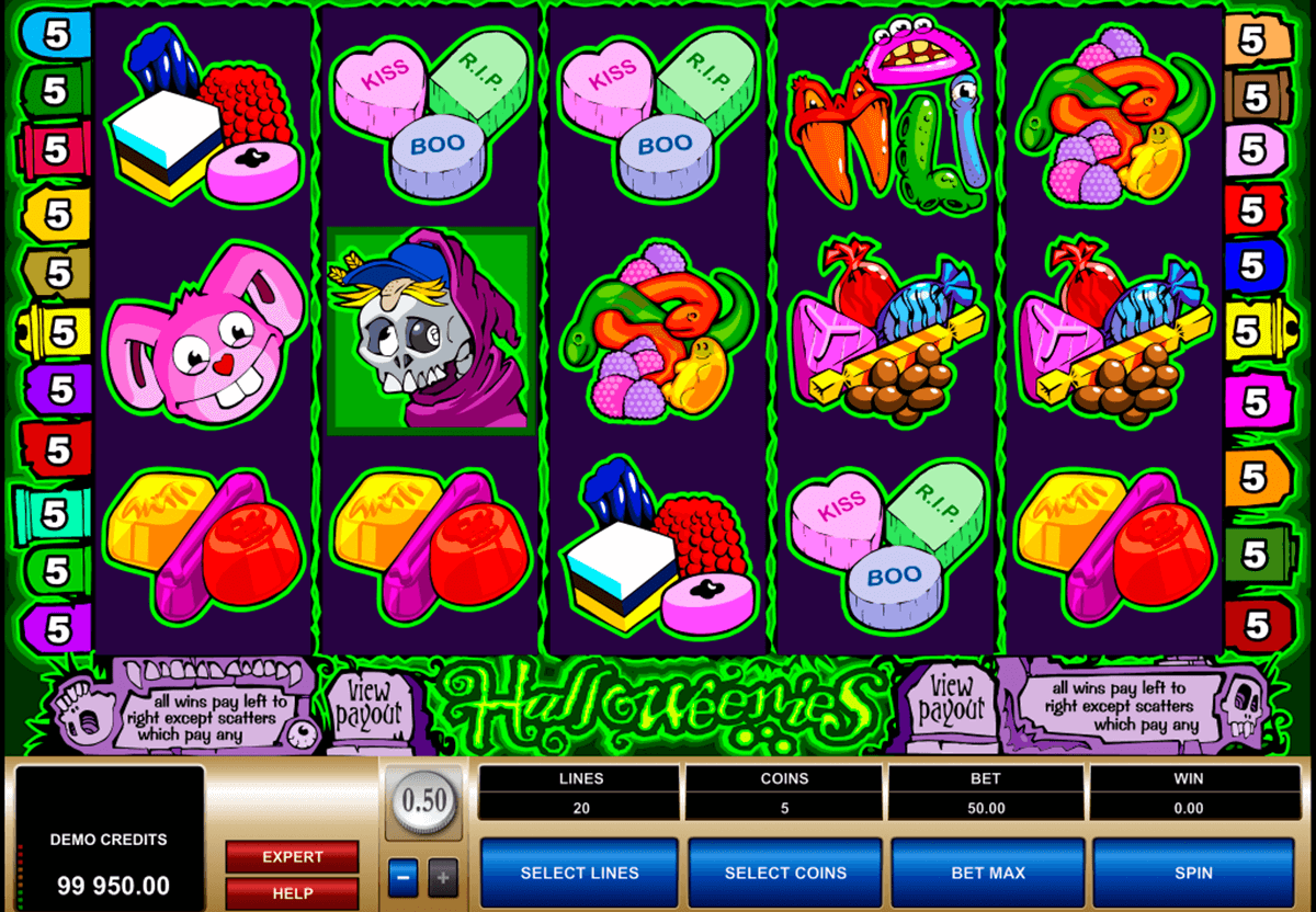 halloweenies microgaming casinospil online