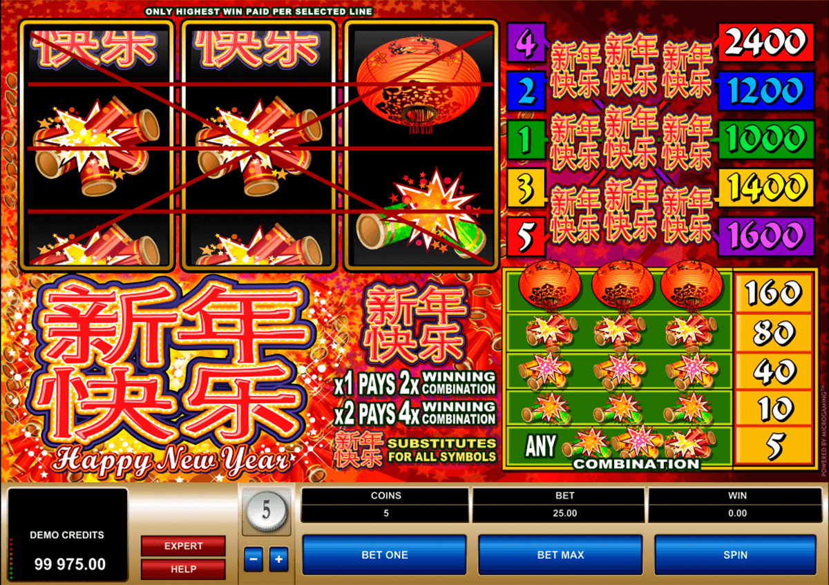 happy new year microgaming casinospil online