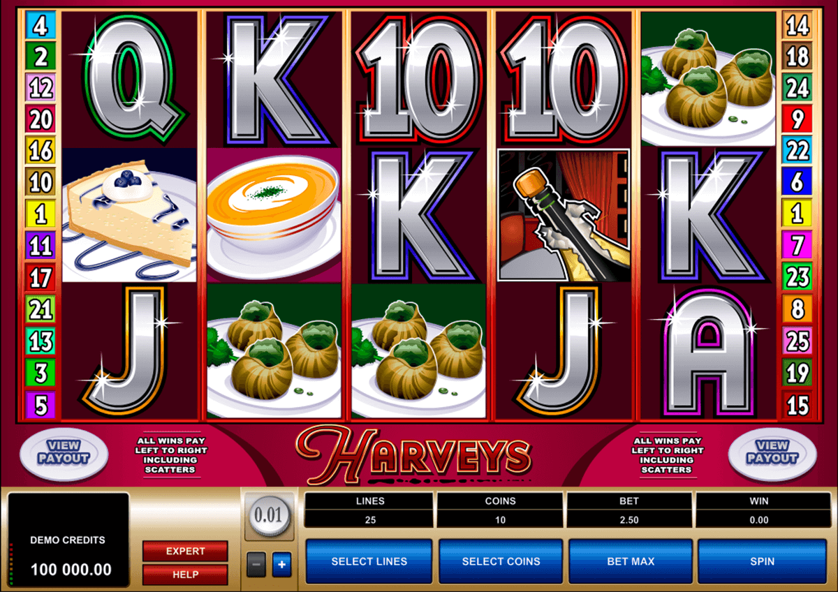 harveys microgaming casinospil online