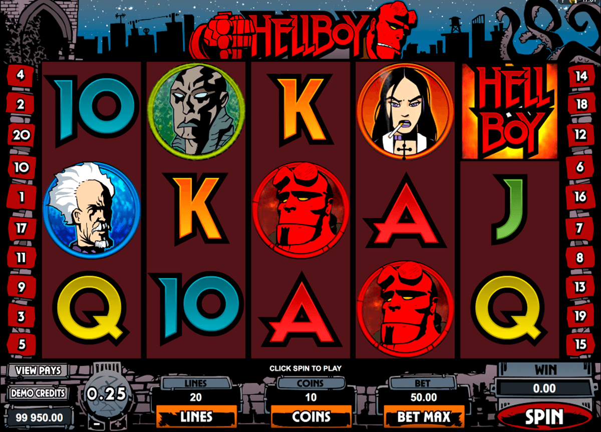 hellboy microgaming casinospil online
