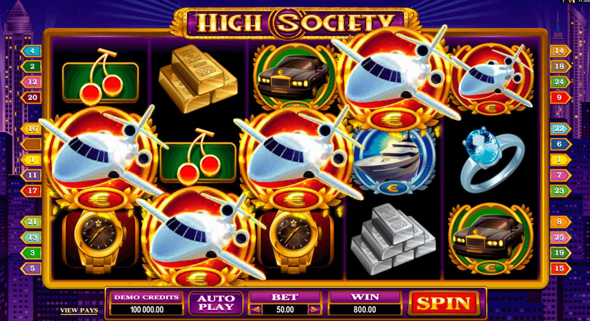 high society microgaming casinospil online