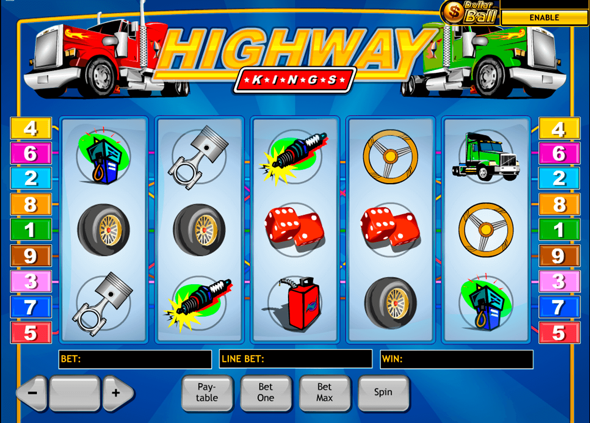 highway kings playtech casinospil online