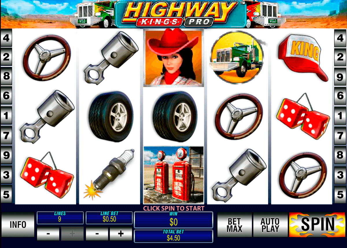 highway kings pro playtech casinospil online