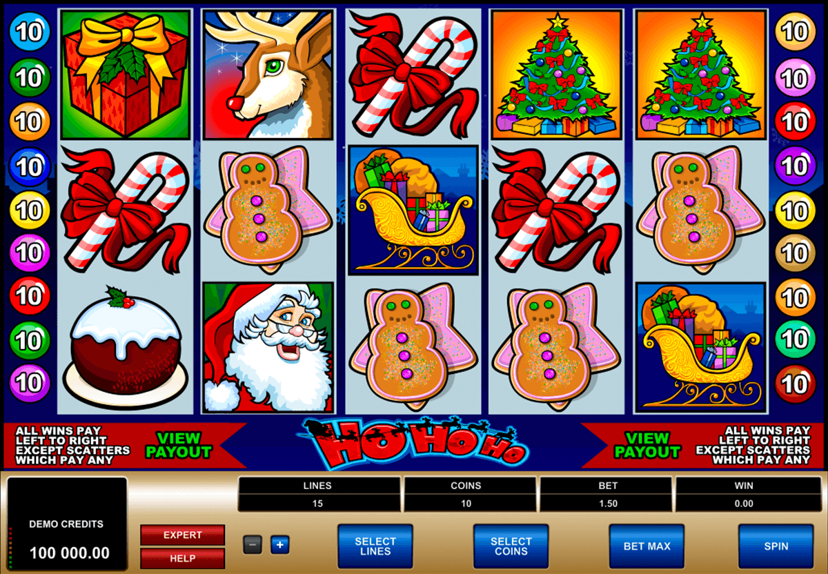 ho ho ho microgaming casinospil online