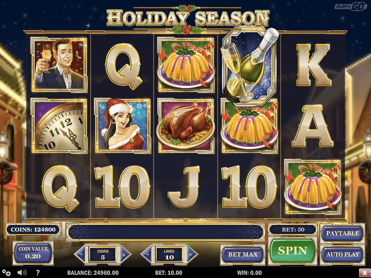 holiday season playn go casinospil online
