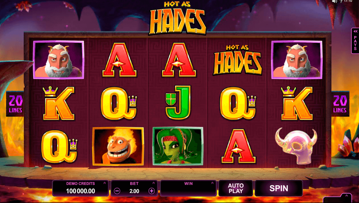 hot as hades microgaming casinospil online