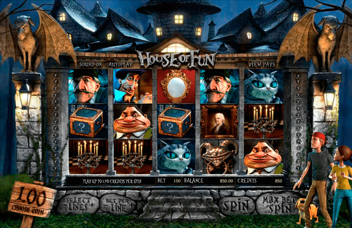 house of fun betsoft casinospil online