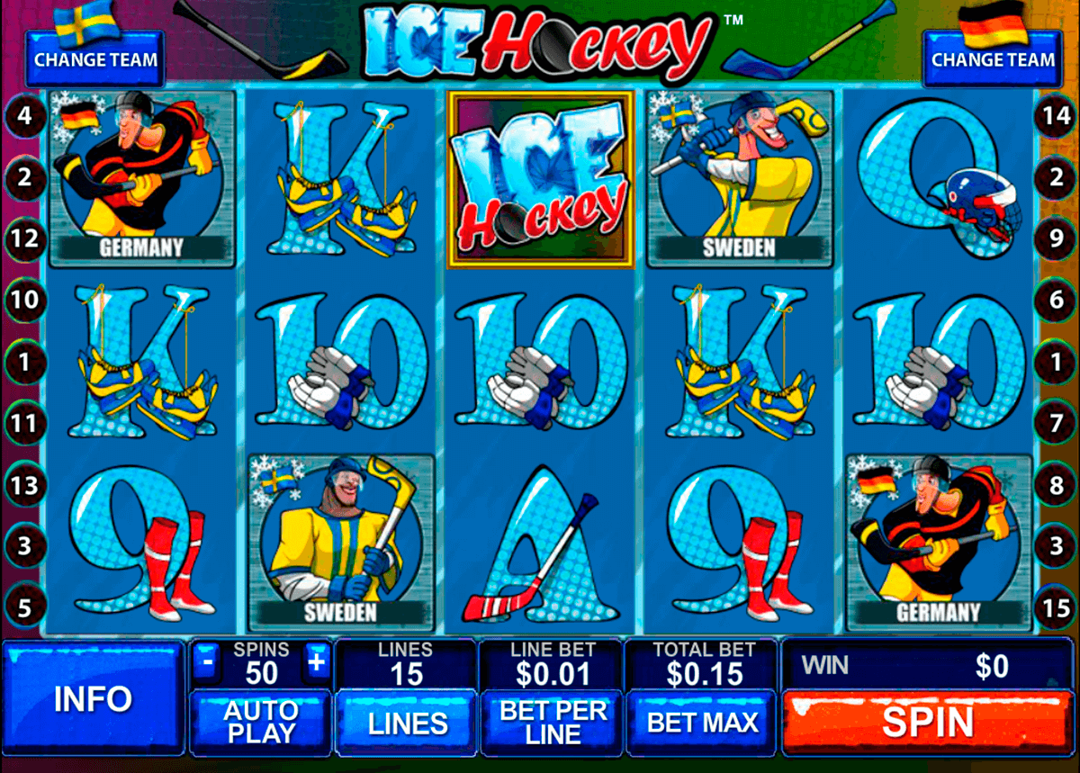 ice hockey playtech casinospil online