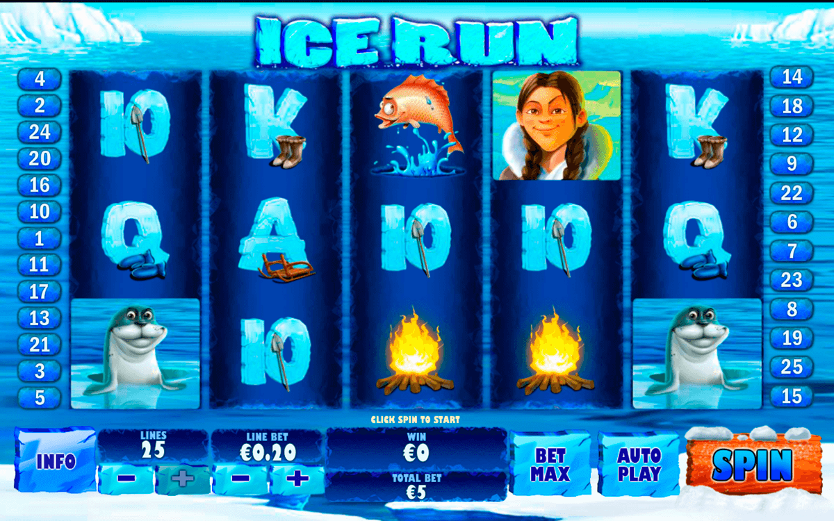 ice run playtech casinospil online