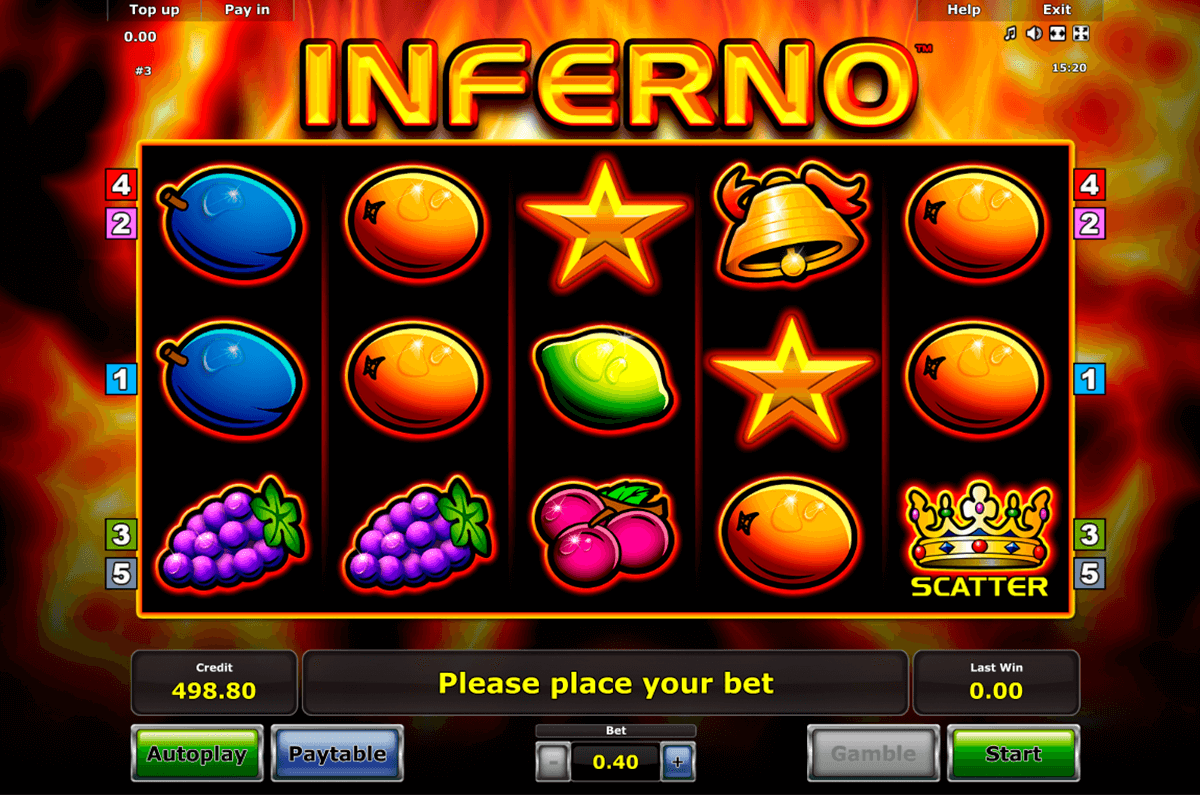 inferno novomatic casinospil online