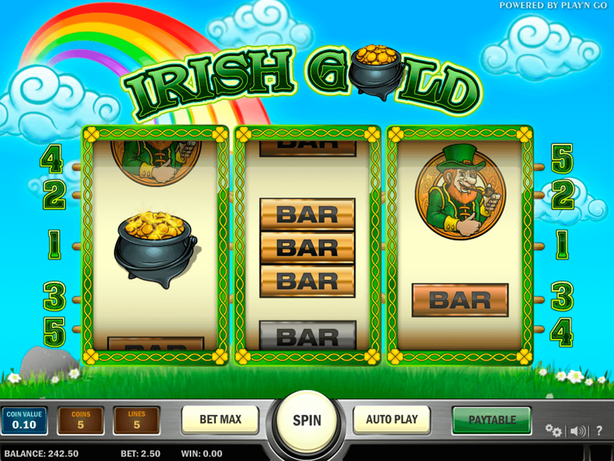 irish gold playn go casinospil online