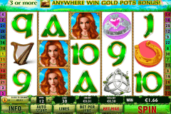 irish luck playtech casinospil online