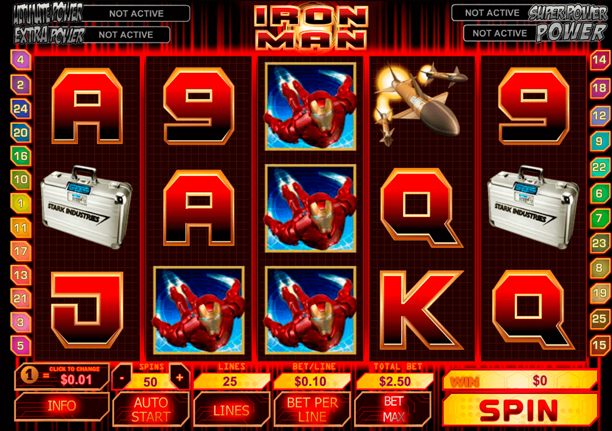 iron man playtech casinospil online