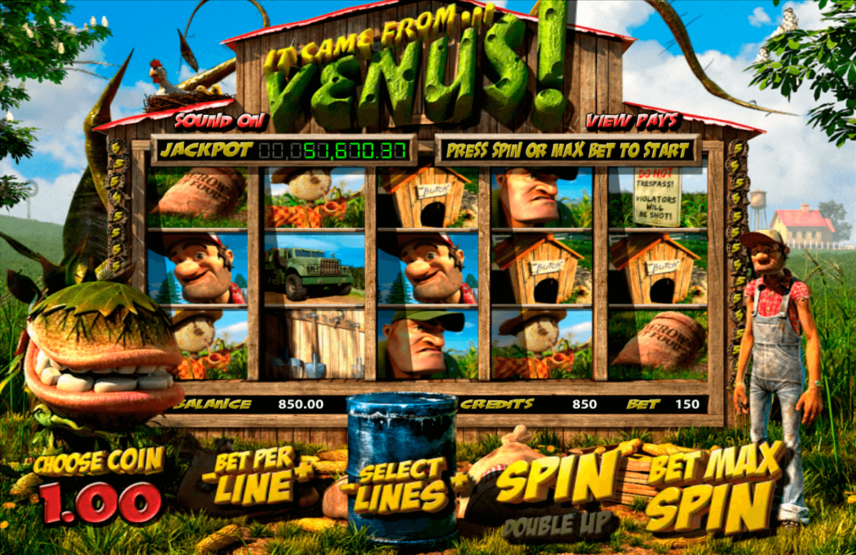 it came from venus betsoft casinospil online
