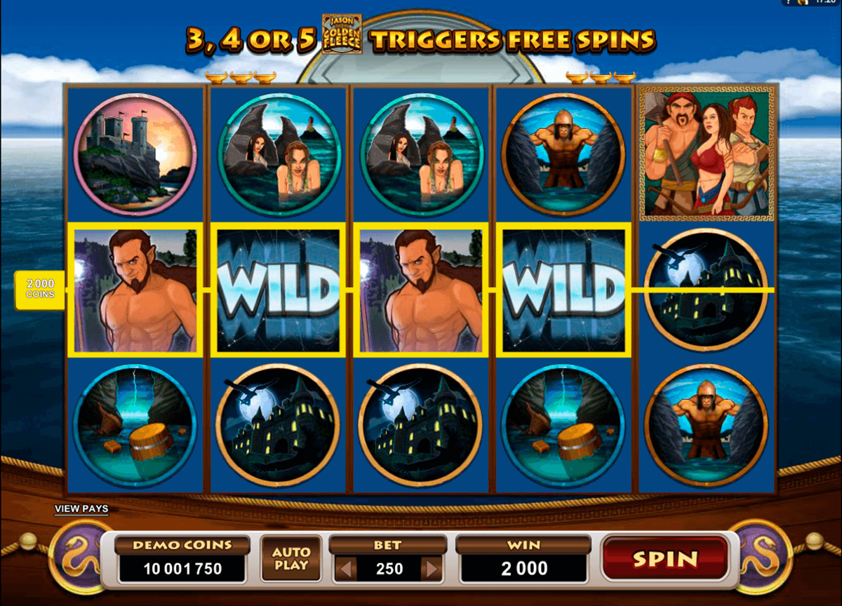 jason and the golden fleece microgaming casinospil online