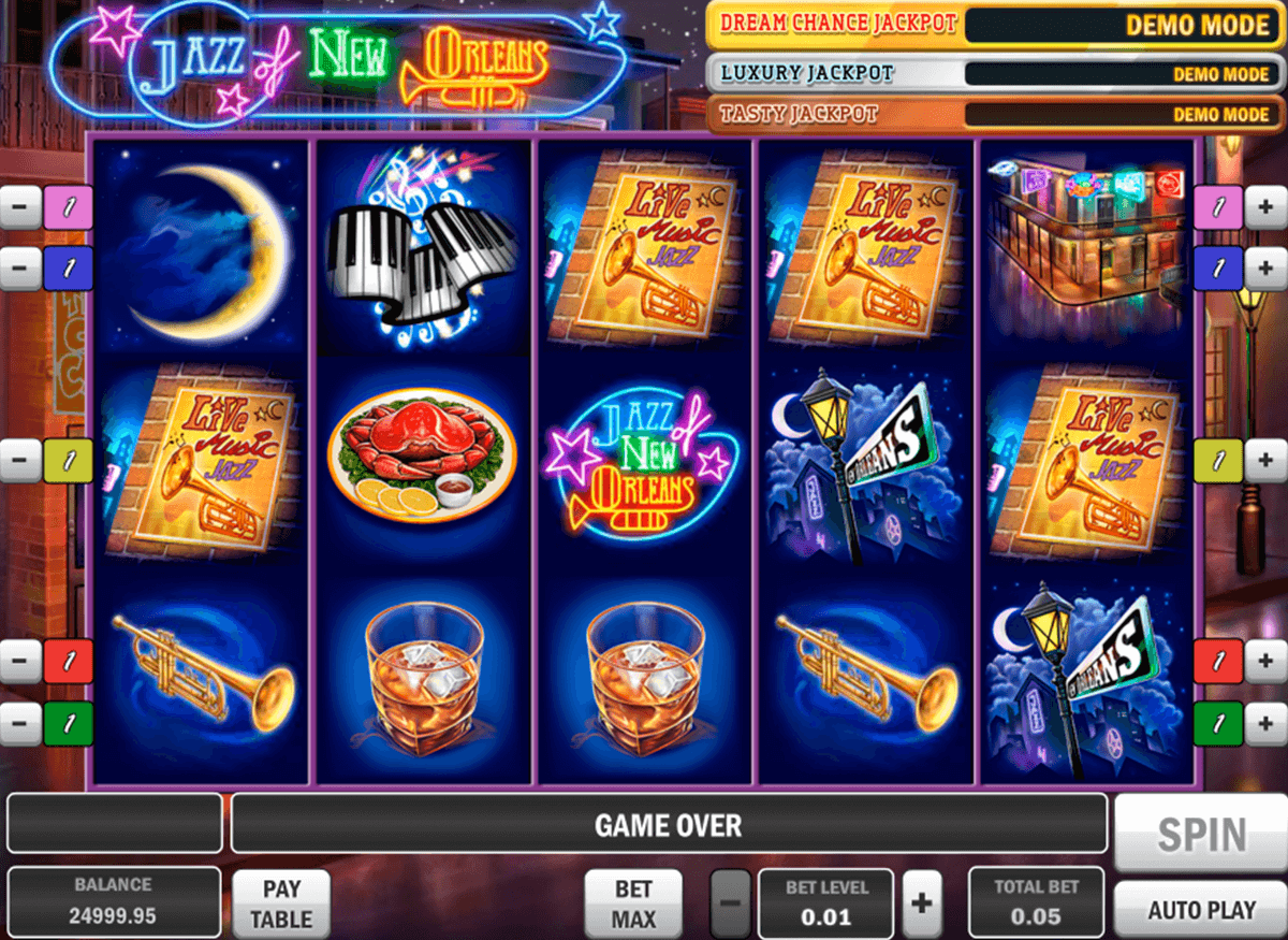 jazz of new orleans playn go casinospil online