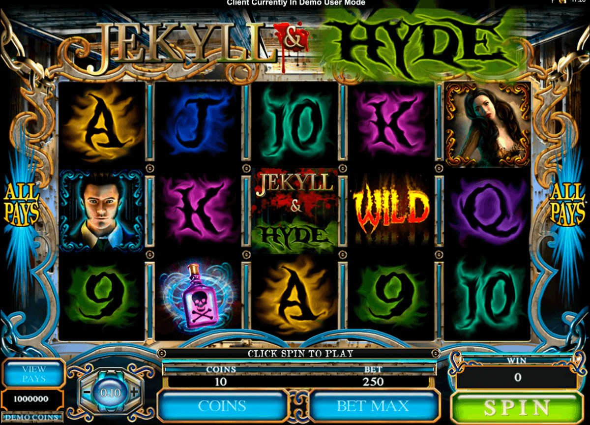 jekyll hyde microgaming casinospil online