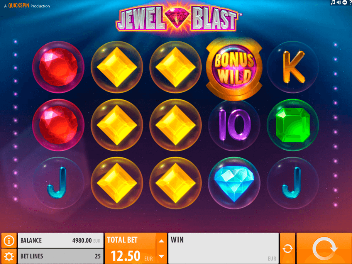 jewel blast quickspin casinospil online