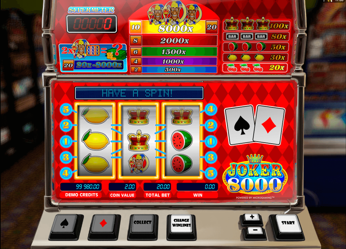 joker 8000 microgaming casinospil online