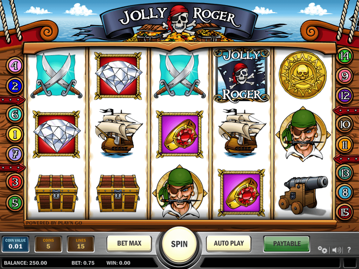 jolly roger playn go casinospil online