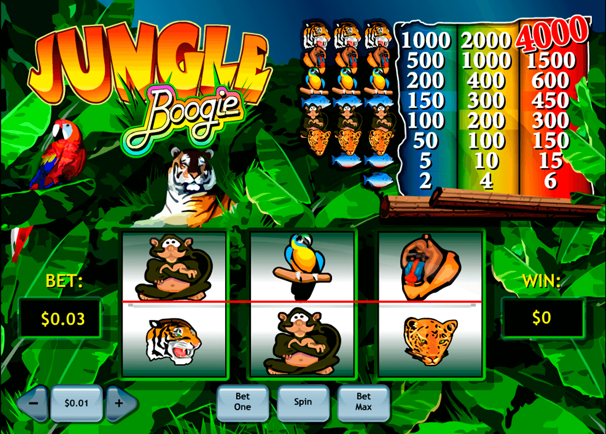 jungle boogie playtech casinospil online