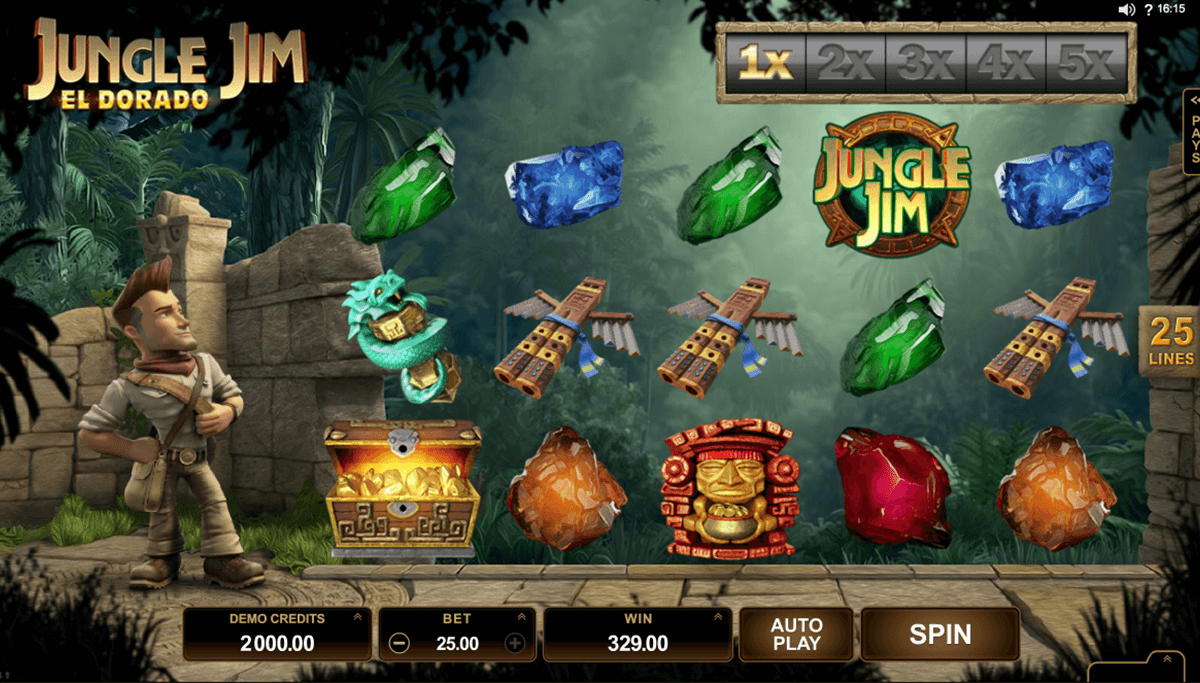 jungle jim el dorado microgaming casinospil online