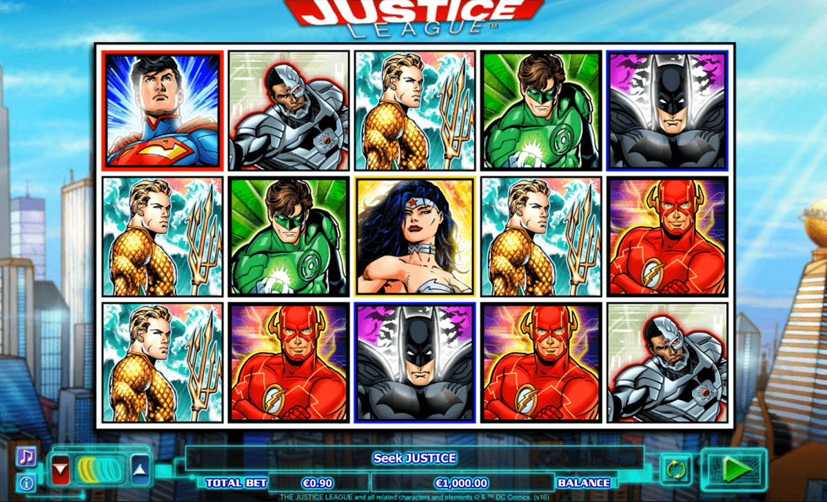 justice league nextgen gaming casinospil online