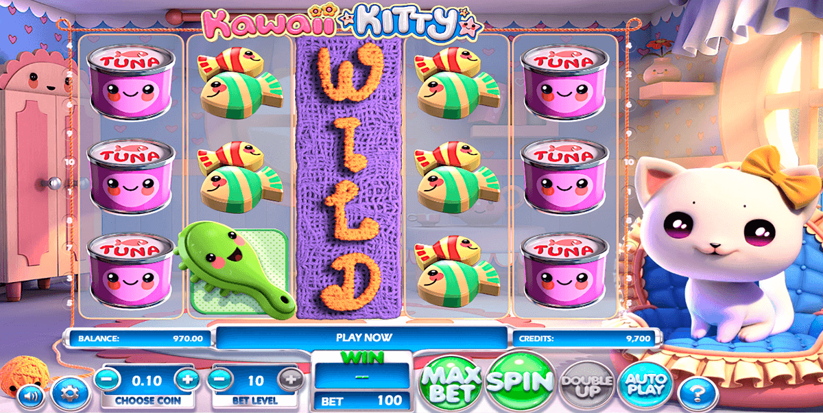 kawaii kitty betsoft casinospil online
