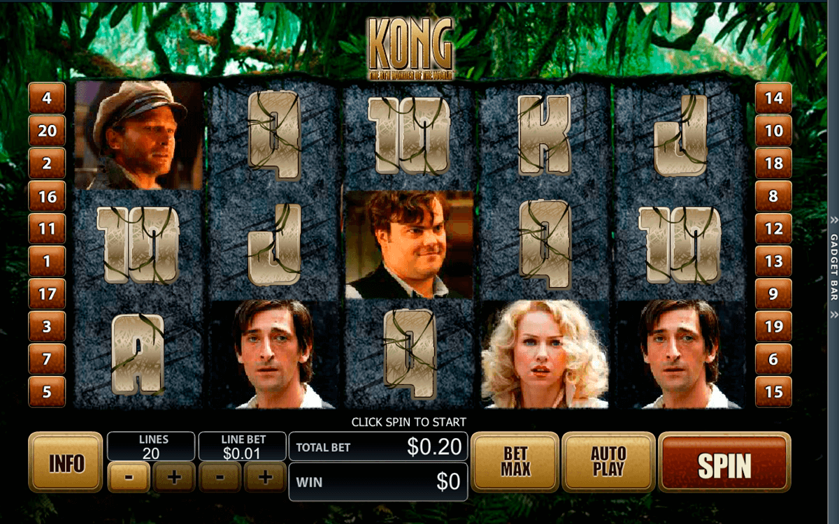 king kong playtech casinospil online