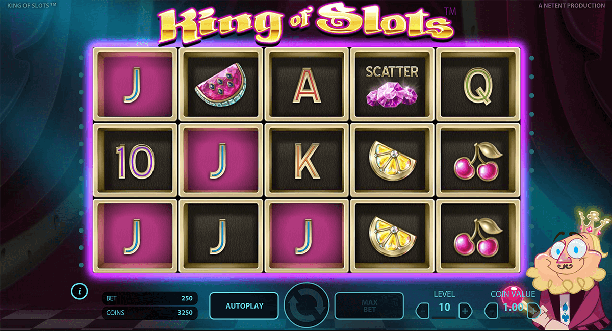 king of slots netent casinospil online