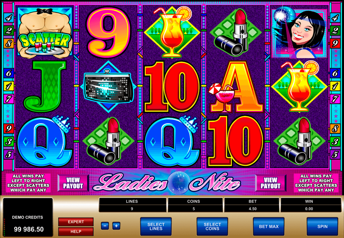 ladies nite microgaming casinospil online
