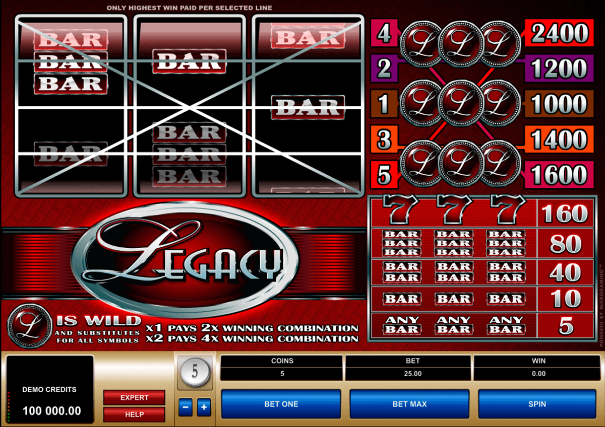legacy microgaming casinospil online