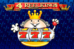 logo 4 reel kings novomatic spillemaskine