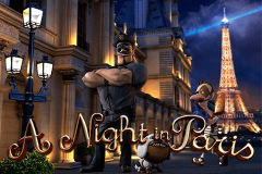 logo a night in paris betsoft spillemaskine