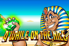 logo a while on the nile nextgen gaming spillemaskine