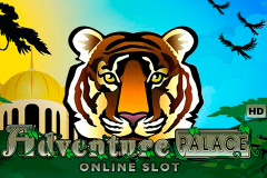 logo adventure palace microgaming spillemaskine
