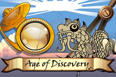 logo age of discovery microgaming spillemaskine