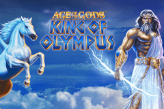 logo age of the gods king of olympus playtech spillemaskine