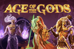 logo age of the gods playtech spillemaskine