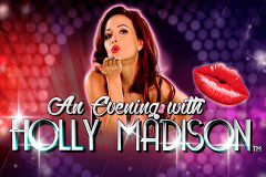 logo an evening with holly madison nextgen gaming spillemaskine