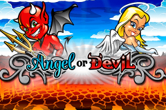 logo angel or devil playtech spillemaskine